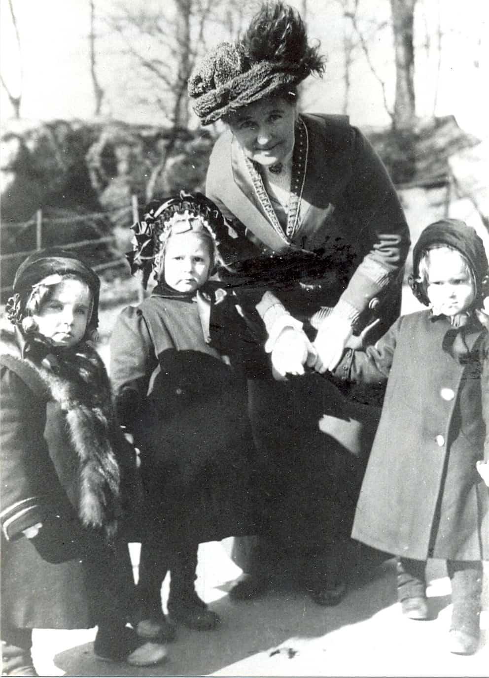 Clara Spence - Central Park, February 1911
