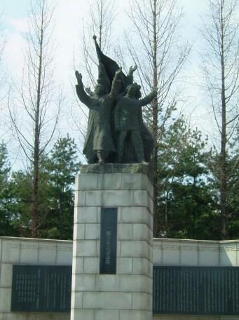 KoreaSamilstatue