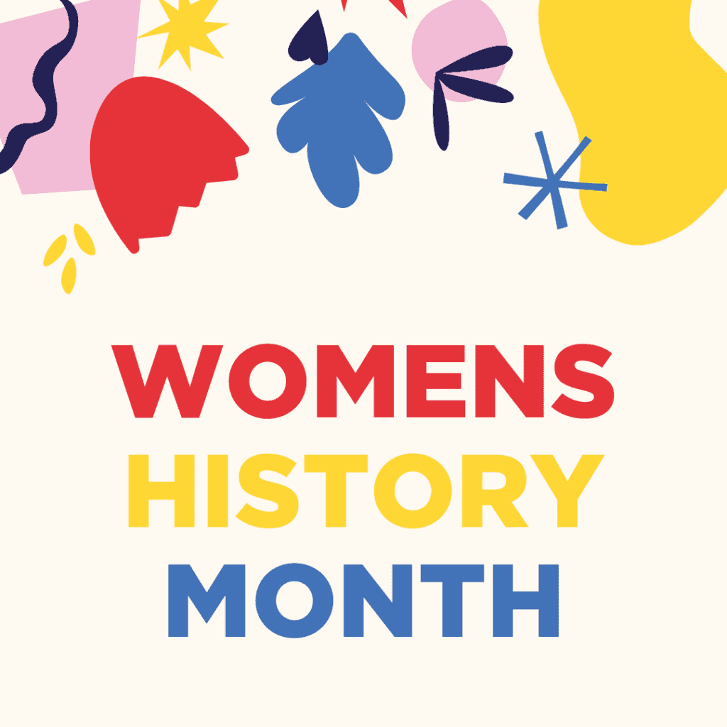 Instagram Womens History Month graphics